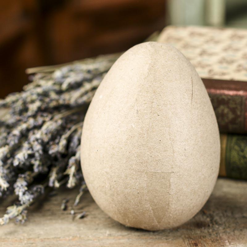 Paper Mache Egg Paper Mache Basic Craft Supplies