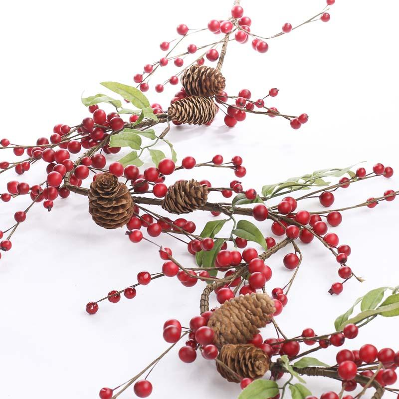 Faux garland 28 images faux garland 28 images 9ft faux for Artificial cranberries decoration