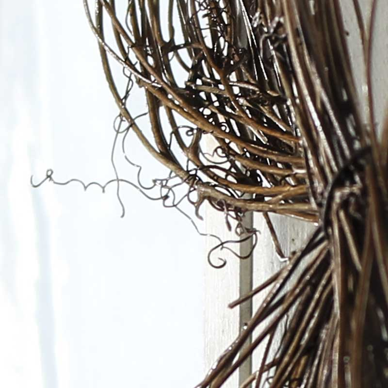 Lighted Twigs Home Decorating: Natural Twig Grapevine Bow