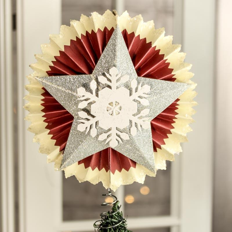 accordion paper christmas tree accordion paper tree topper trees and toppers 3311