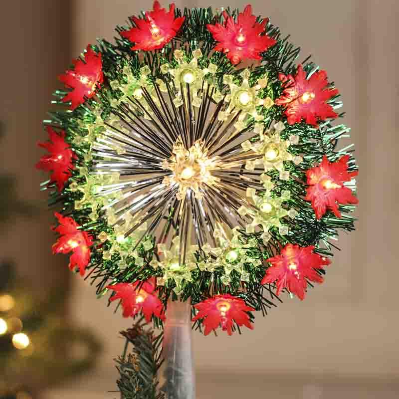 Vintage Look Flashing Weatherproof Christmas Wreath - On Sale ...
