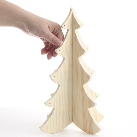 christmas tree wood cutouts