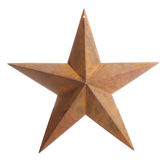 10 1 2 Quot Rusty Tin Dimensional Barn Star Barn Stars