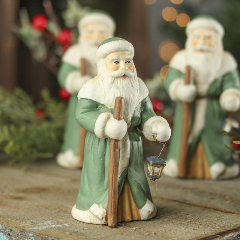 Ceramic santa figurine christmas and winter sale sales