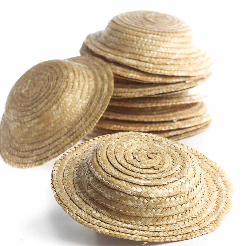 Craft Supplies Small Straw Hats