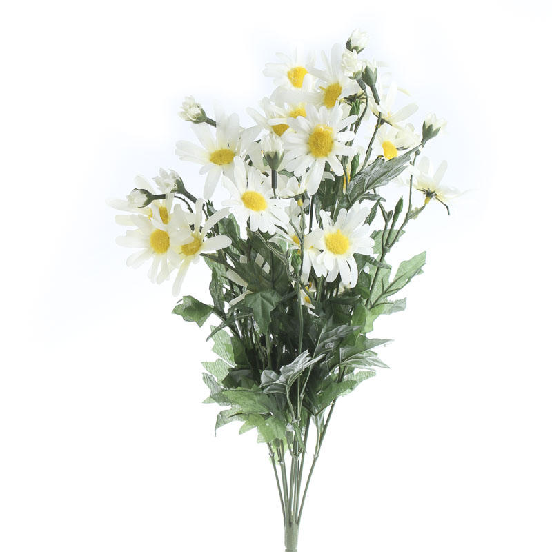 Cream Artificial Daisy Spray Bushes And Bouquets
