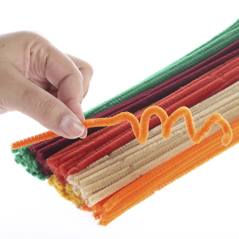 Assorted fall pipe cleaners pipe cleaners kids crafts for Pipe craft
