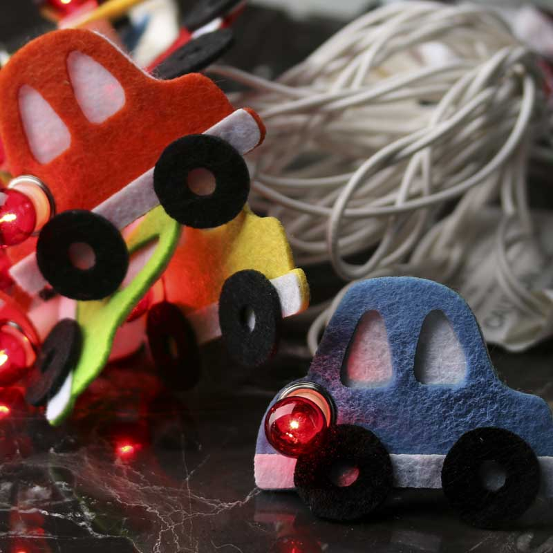 Felt Car Decorative String Lights - What's New - Party & Special ...