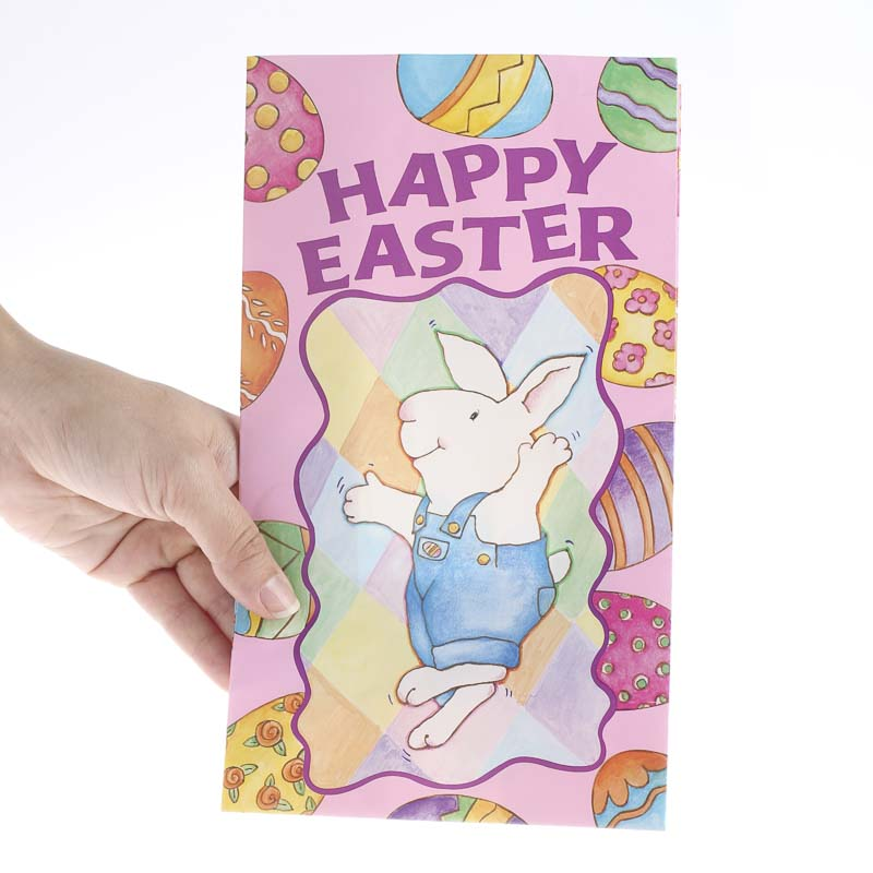 Happy easter gift bags gift bags favor bags party supplies compare size negle Image collections