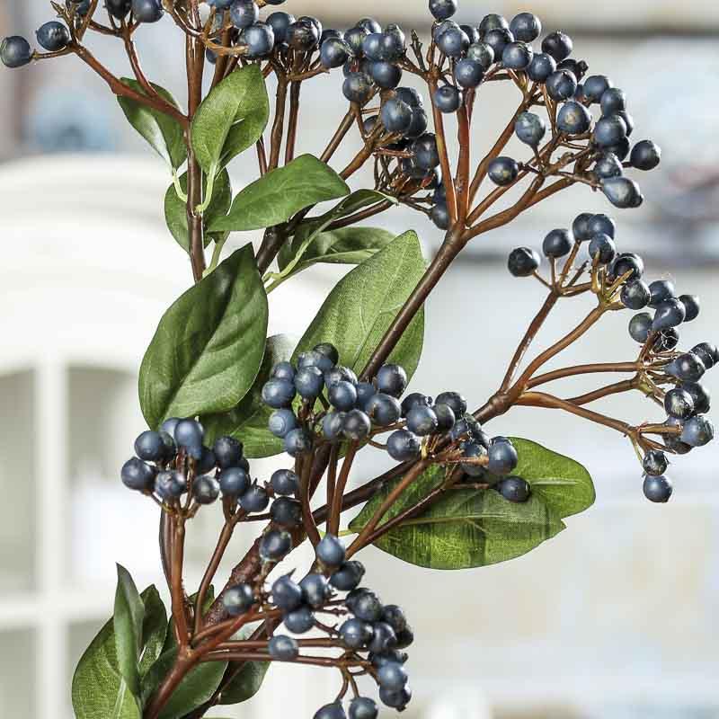 Artificial Blueberry Bush Spray Picks Sprays Floral