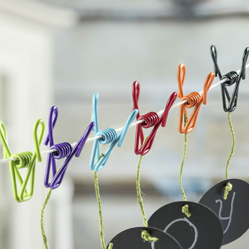 Multicolor PVC Coated Wire Clips - Tools - Hardware - Basic Craft ...