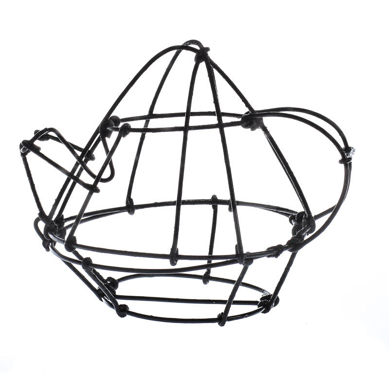 wire teapot - table decor