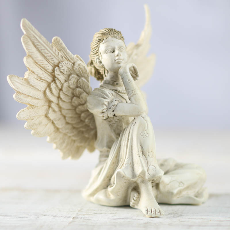 Angel Star Thoughtfulness Simplicity Fairy Figurine