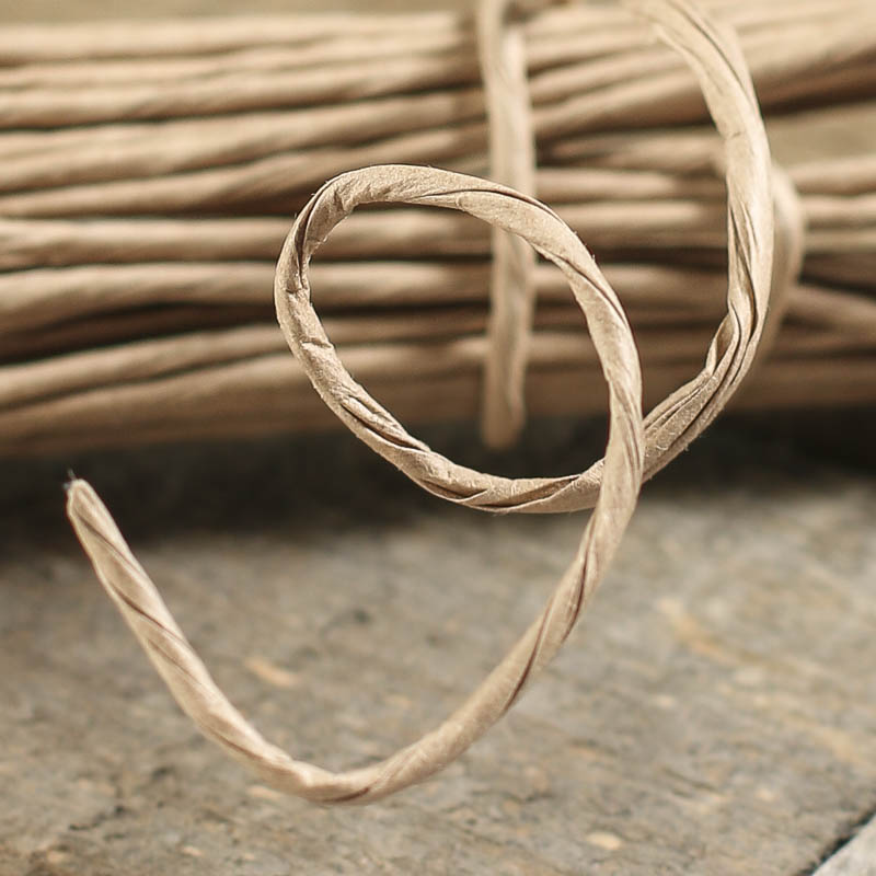 Khaki Craft Paper Wire Wire Rope String Basic Craft Supplies