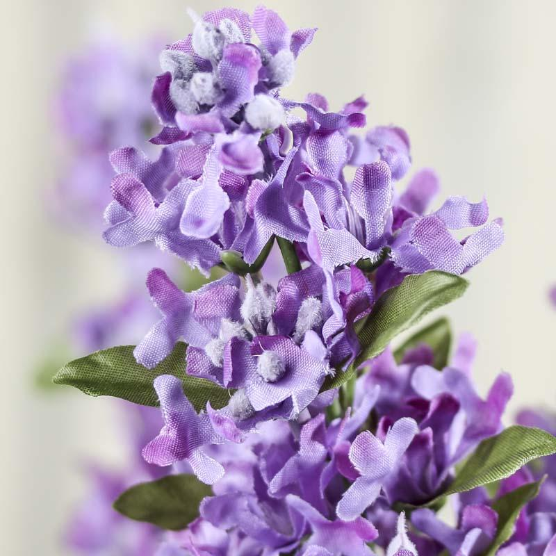 Purple Artificial Lilac Bush Bushes Bouquets Floral