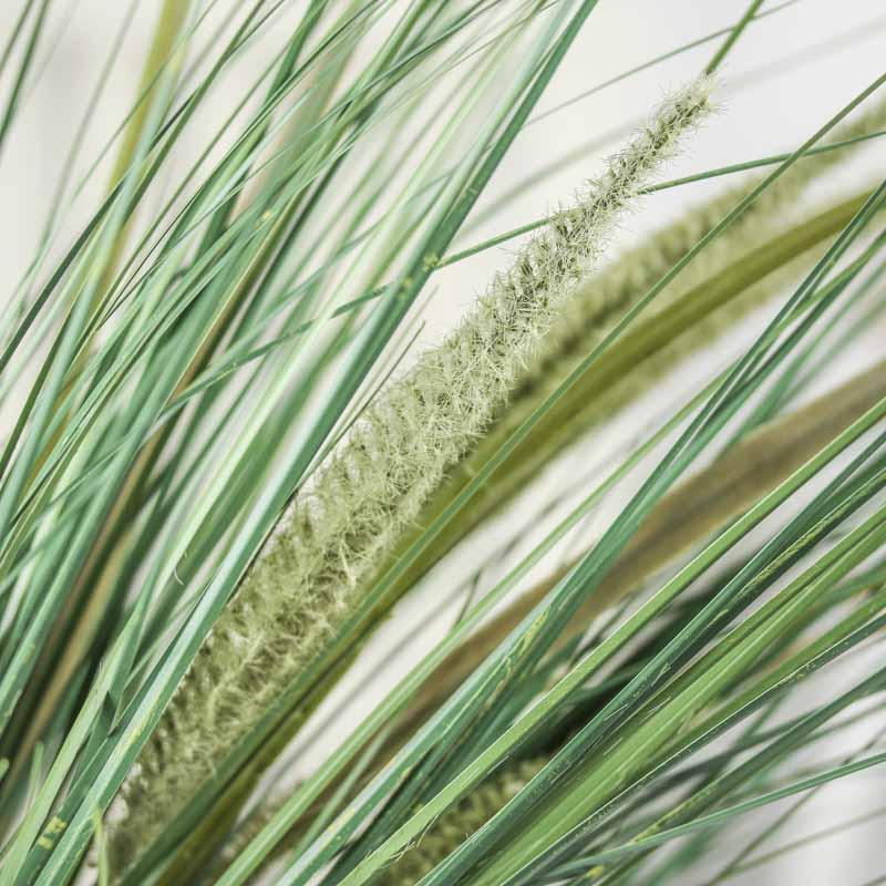 Tall foxtail grass bush artificial greenery floral for Tall grass bush