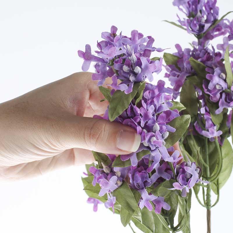 Purple Artificial Lilac Bush Bushes And Bouquets