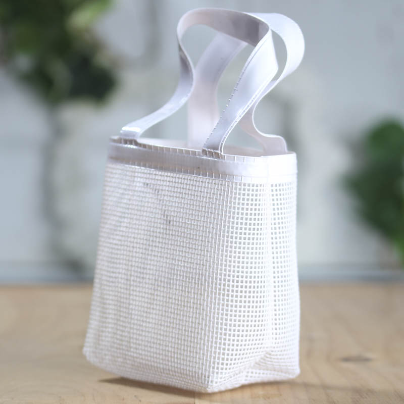 Small White Vinyl Mesh Bag Bags Basic Craft Supplies Craft