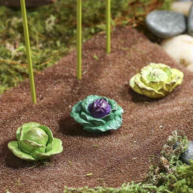 Miniature Cabbage Picks Fairy Garden Miniatures