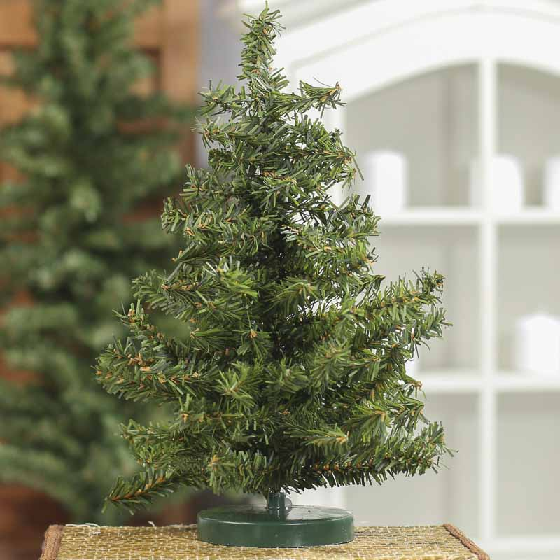 Miniature Artificial Christmas Trees: Miniature Artificial Pine Tree