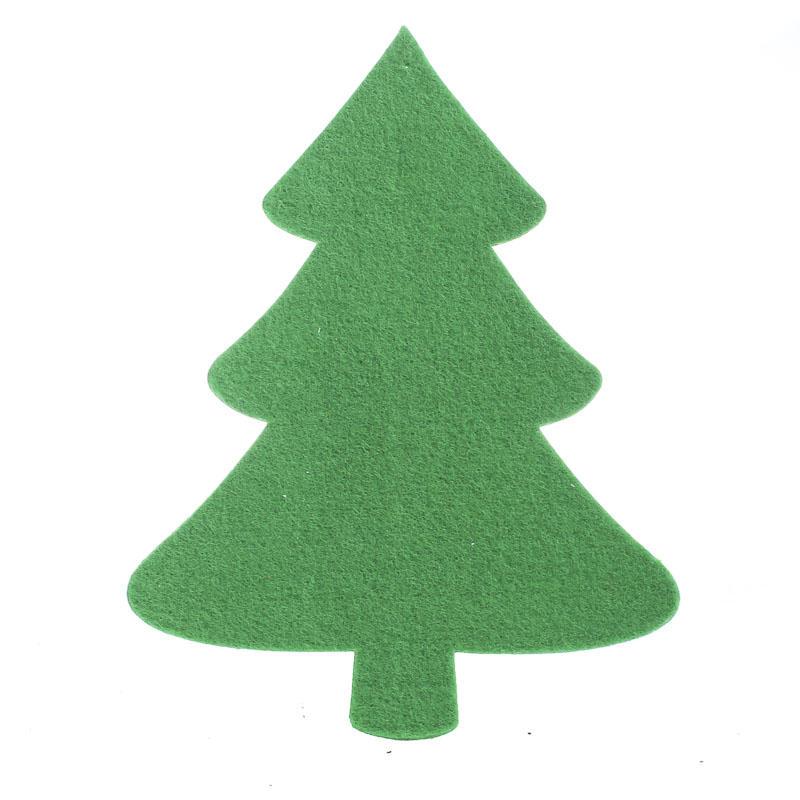 Felties Christmas Tree Cutout Felt Squares Kids Crafts