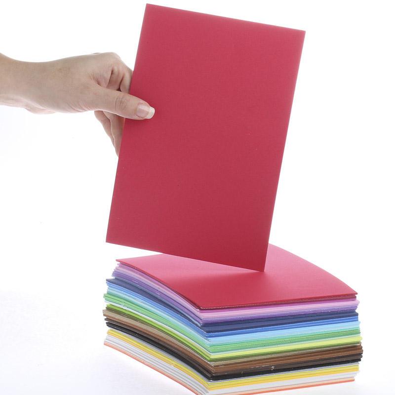 Foamies multi color sticky back foam sheets craft foam for Soft foam sheets craft