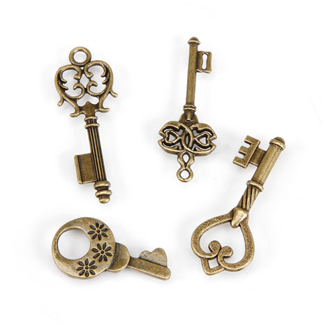 Brass charms