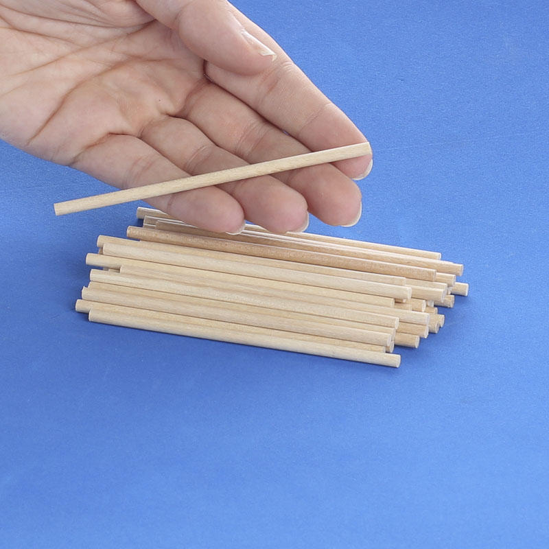 Small unfinished wood dowel rods dowel rods unfinished for Wooden dowels for crafts