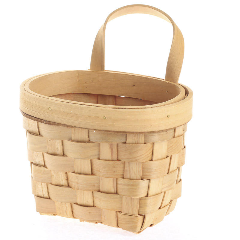 Natural Woodchip Wall Basket - Baskets, Buckets, & Boxes - Home Decor