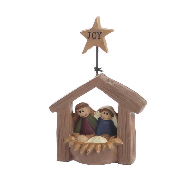 Miniature Nativity Figurine Christmas And Holiday