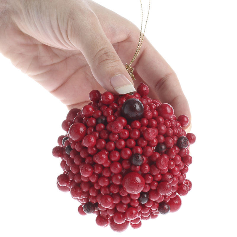 Red Berry Ball Ornament