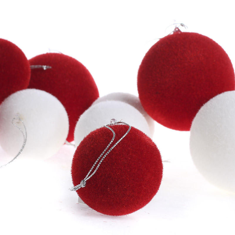 Fuzzy Ball Ornaments Christmas Ornaments Christmas And