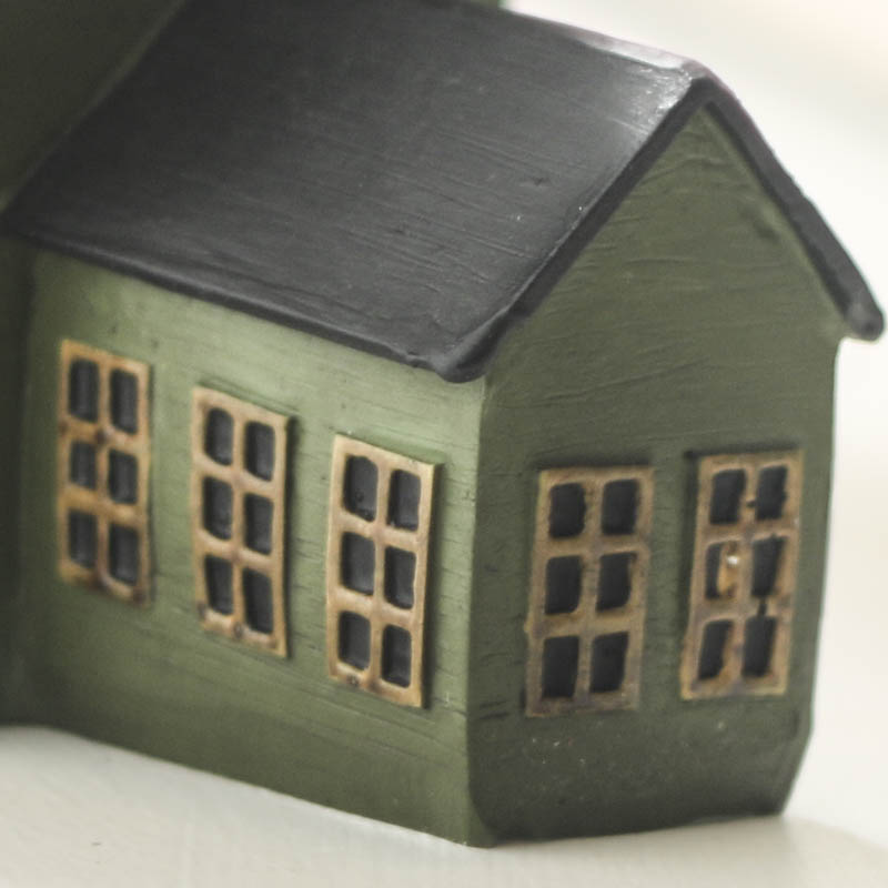 Miniature Saltbox Houses Decorative Accents Primitive