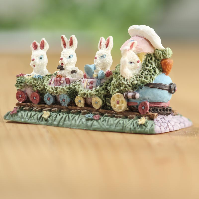 Easter bunny train on sale home decor for Home decorations on sale