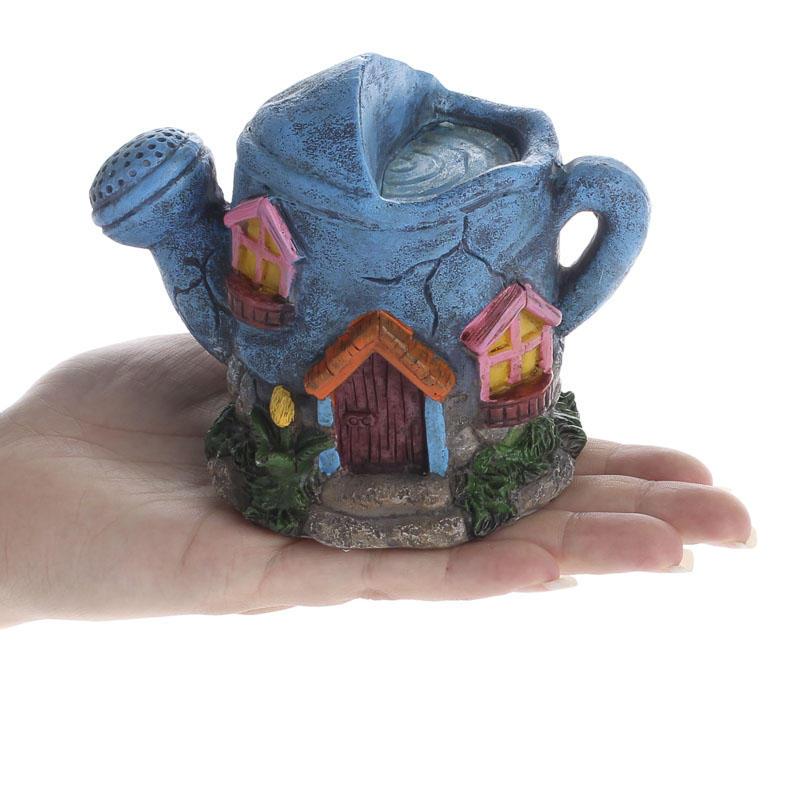 Garden Wedding Cake: Resin Fairy Garden House