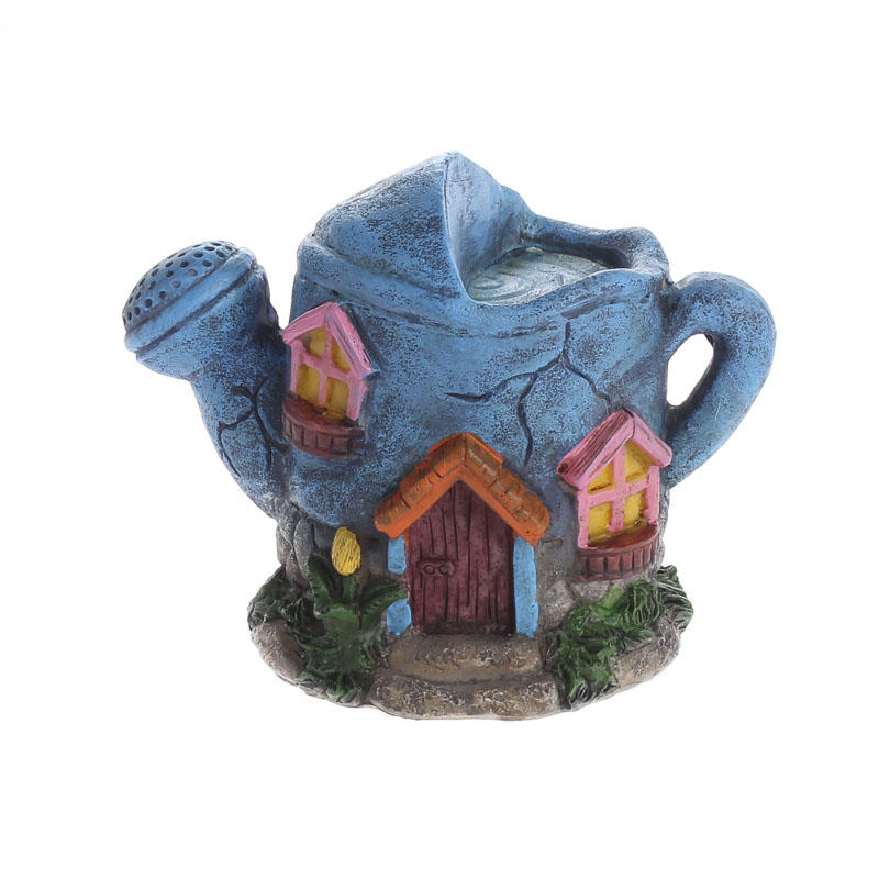 Resin fairy garden house what 39 s new home decor for New home decor products