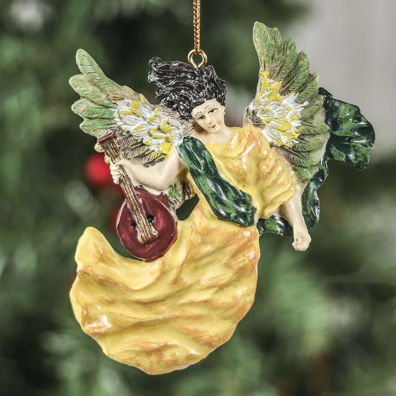 Christmas Ornament Angels From Office Supplies: Resin Heavenly Angel Ornament