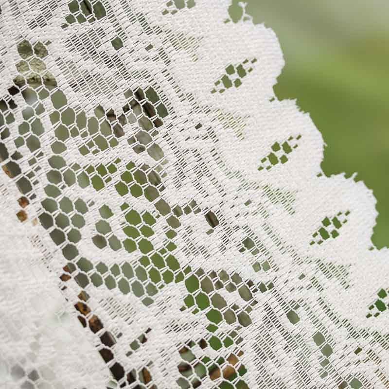Crochet Patterns Lace Table Runners : Ivory Lace Doily Table Runner - Crochet and Lace Doilies ...