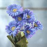 Periwinkle Artificial Gerbera Daisy Plant