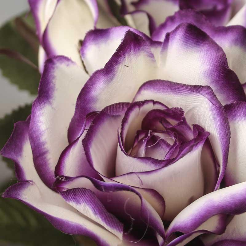 Purple Passion Artificial Rose Bush Bushes And Bouquets