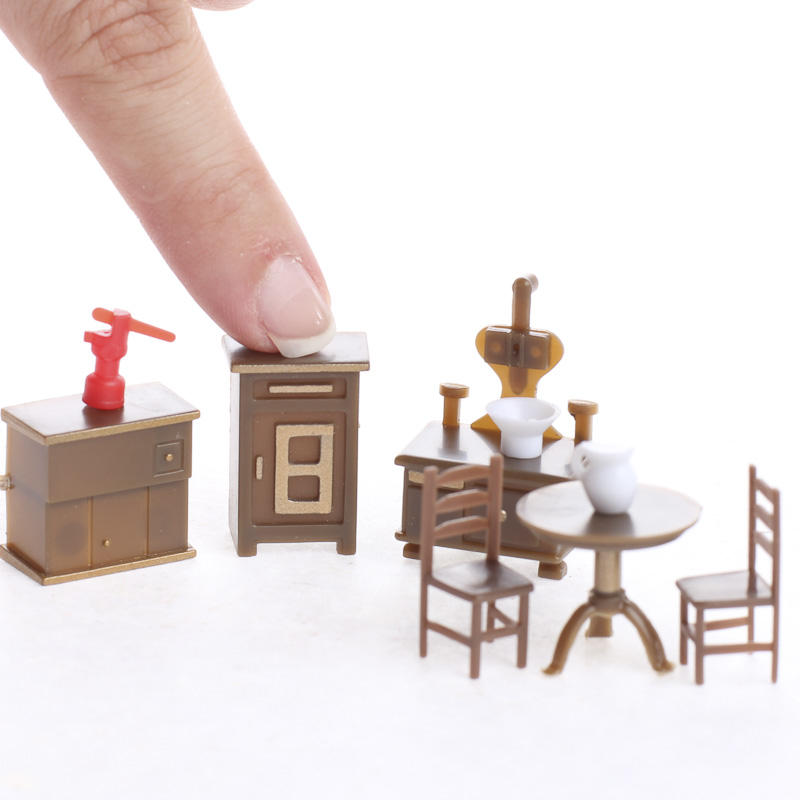 Dollhouse Miniature Furniture And Accessories