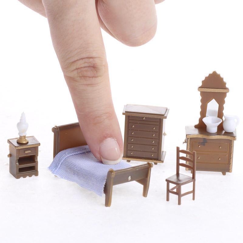 Micro Mini Bedroom Furniture Set