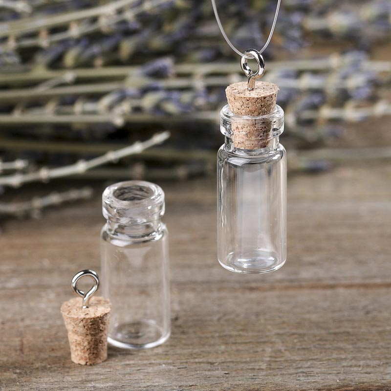pin necklace chain long glass pendant brand romantic bottle danbihuabi