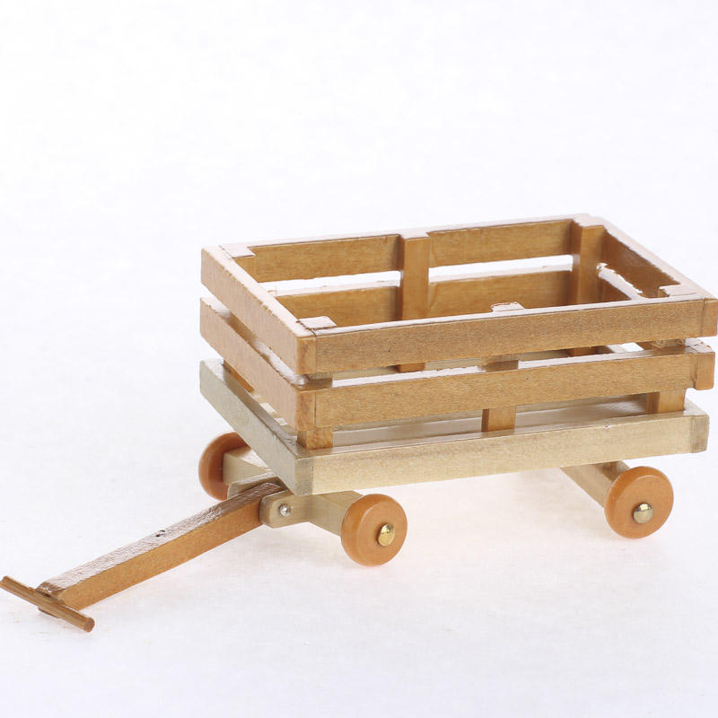 Miniature Wood Wagon