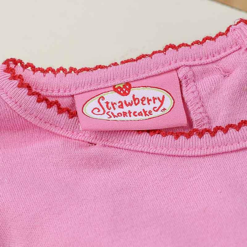 strawberry shortcake pink baby onesie baby shower gifts baby