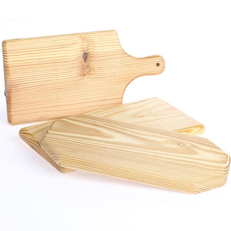 Small unfinished wood cutting board wooden plaques and for Wooden craft supplies online