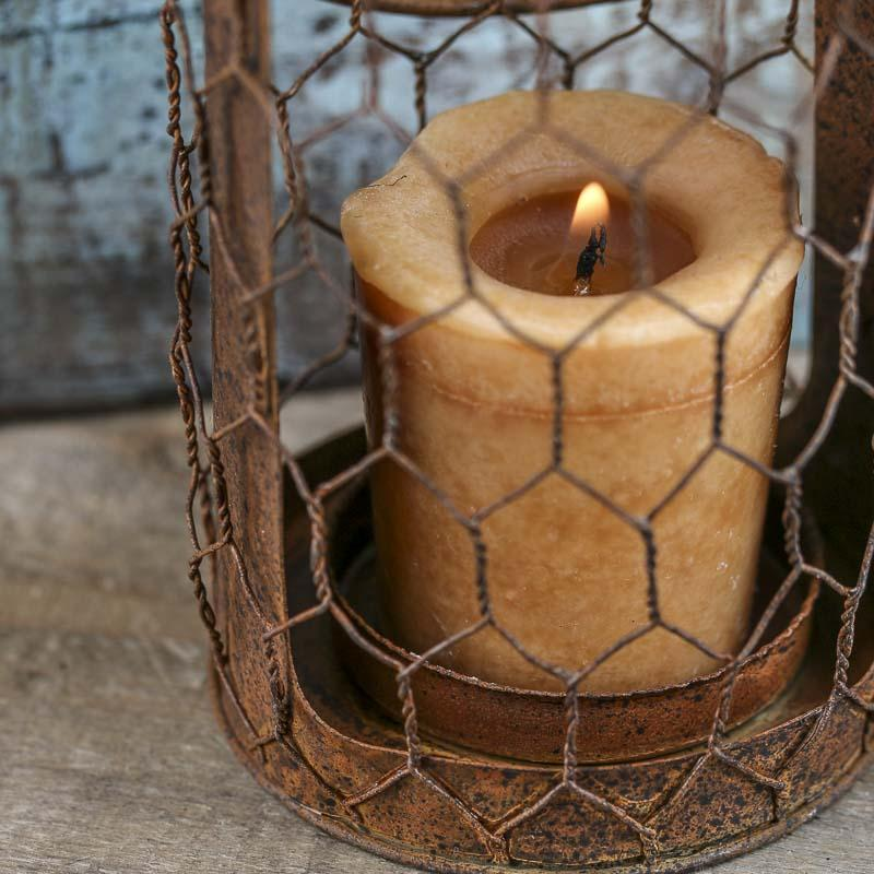 Chicken Wire Candle Holder