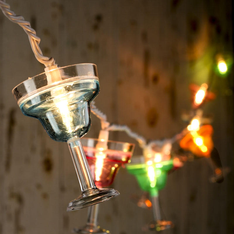 Margarita Glass String Lights Lighting Home Decor
