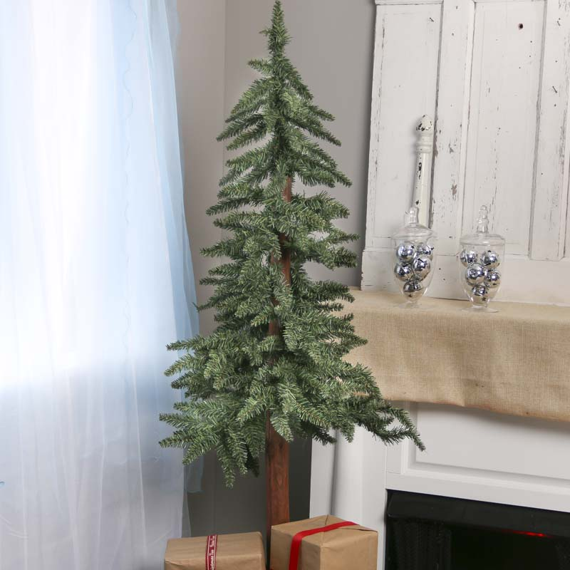 Primitive Artificial Christmas Trees