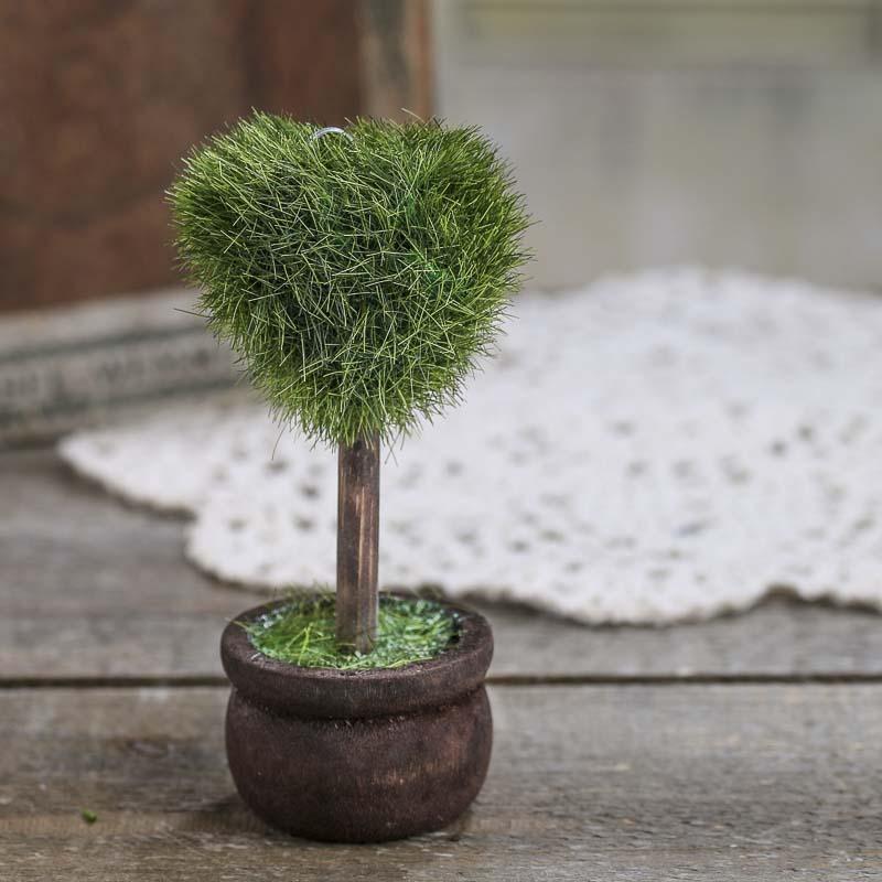 Miniature Topiary Plant Fairy Garden Miniatures Dollhouse